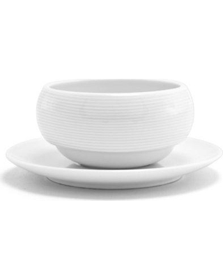 Front Of The House Spiral® 10 oz. Stackable Dessert Bowl (Set of 6) DBO021WHP23