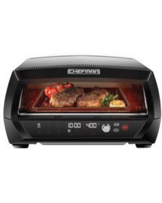 Chefman Food Mover Conveyor Toaster Oven, Stainless Steel