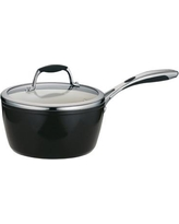 Tramontina Gourmet Ceramica Deluxe Saucepan with Lid 80110/024DS/80110/025DS Size: 3-qt.