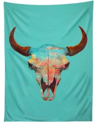 East Urban Home Turquoise Sky by Terry Fan Tapestry ERNI6007