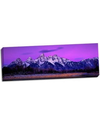 Millwood Pines 'Grand Teton National Park X' Photographic Print on Wrapped Canvas BF053193