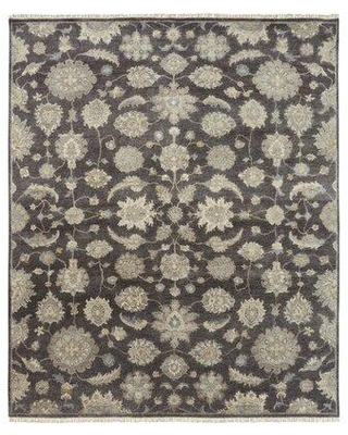 Canora Grey Predmore Hand-Knotted Wool Gray Rug X112238022 Rug Size: Rectangle 8' x 10'