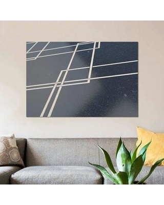 """East Urban Home 'Conceptual Surface' Graphic Art Print on Canvas ERBH3615 Size: 12"""" H x 18"""" W x 0.75"""" D"""
