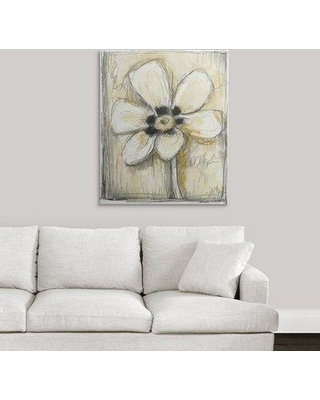 "Great Big Canvas 'Kinetic Blooms IV' Jennifer Goldberger Painting Print 2432937_1_ Size: 36"" H x 30"" W x 1.5"" D Format: Canvas"