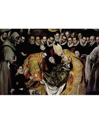 "East Urban Home 'Bottom Half in Detail' by El Greco Painting Print on Wrapped Canvas ESRB3847 Size: 18"" H x 26"" W x 1.5"" D"