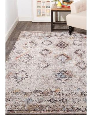 Weave & Wander Sand/Multi Matana 5 ft 3 in x 7 ft 6 in Area Rug