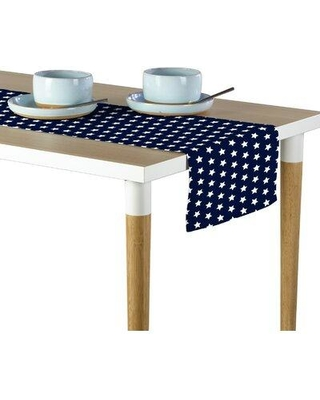 """East Urban Home Old Glory Stars Table Runner W000072035 Size: 72"""" x 12"""""""