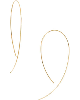 Lana Jewelry Hooked on Hoops with Diamonds UD9bn