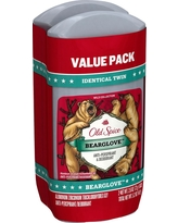 Old Spice Wild Collection Bearglove Invisible Solid Antiperspirant and Deodorant Twin Pack - 5.2oz
