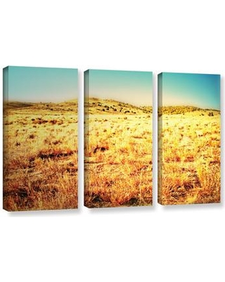 ArtWall Take A Seat by Mark Ross 3 Piece Photographic Print on Gallery Wrapped Canvas Set 0ros025c3654w
