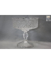 Astoria Grand Lauzon Crystal Footed Fruit Glass Decorative Bowl ARGD7900