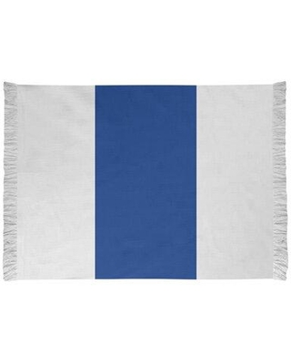 East Urban Home Seattle Throwback Football White Area Rug FCJK0448 Backing: Yes