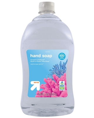 Clear Liquid Hand Soap - 56oz - up & up