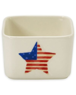 Precious Moments® Patriotic Star Appetizer and Dip Serving Bowl
