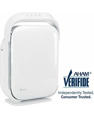 Germ Guardian Air Purifier, High CADR True HEPA Filter, Large Rooms to 335 sq ft, UV Light Sanitizer Eliminates Germs,Mold,Odors, Filters Allergies, Pollen, Smoke, Dust, Pet Dander, Lonizer, AC9200W