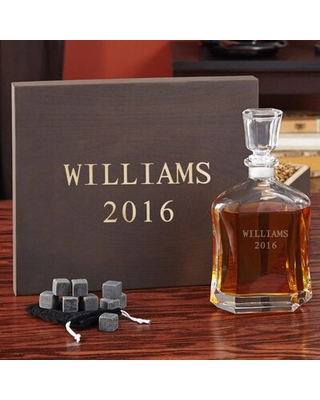 Cinderford Personalized 24 oz. Whiskey Decanter