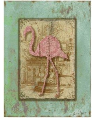 """Bay Isle Home 'Bird Silhouette' Acrylic Painting Print on Wrapped Canvas BYIL5161 Size: 24"""" H x 18"""" W x 2"""" D"""