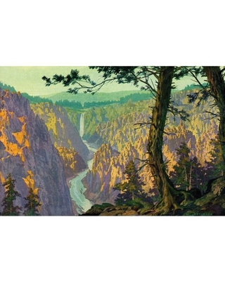 """""""Grand Canyon 2"""" Painting Print on Wrapped Canvas"""