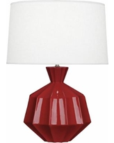 Robert Abbey Orion Oxblood Ceramic Table Lamp
