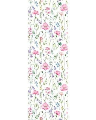 Bungalow Rose Northwood Removable Field Flowers Mix Nursery 8 33 L X 25 W