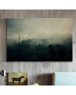"""Williston Forge 'Bird Song' Painting Print on Wrapped Canvas MH-INGBED-07-C- Size: 12"""" H x 18"""" W x 1.5"""" D"""