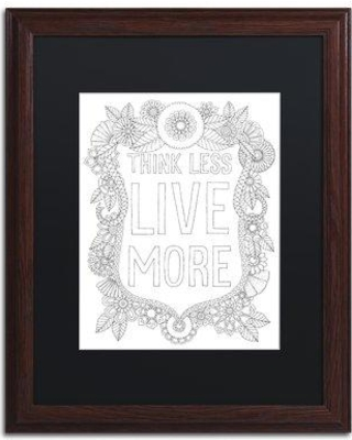 "East Urban Home 'Inspirational Quotes 1' Framed Graphic Art ETRB6722 Size: 20"" H x 16"" W x 0.5"" D Matte Color: Black"