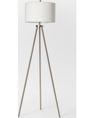 Big Savings For Ellis Collection Tripod Floor Lamp Nickel Includes