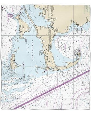 Find The Best Deals On Red Barrel Studio Nautical Chart Cape Cod