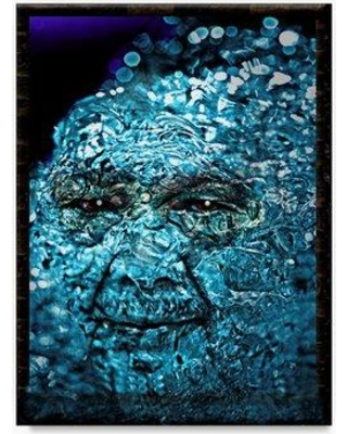 "Trademark Fine Art 'The Water Spirit' Graphic Art Print on Wrapped Canvas ALI20971-C Size: 32"" H x 24"" W"