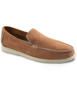 johnnie-O Malibu Venetian Loafer, Size 10.5 in Brown at Nordstrom