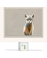 Oopsy Daisy Baby Fox - Neutral by Cathy Walters Canvas Night Light NB51868
