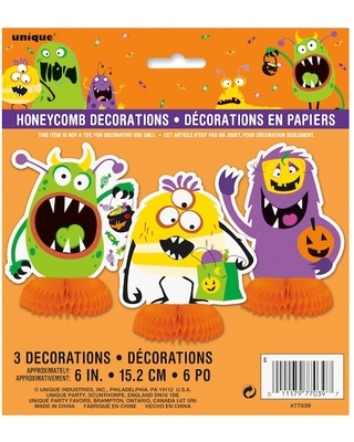 """6"""" Silly Monsters Halloween Centerpiece Decorations, 3Ct By Unique   Michaels®"""