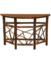 Fireside Lodge Hickory Console Table 84570 Color: Rustic Alder