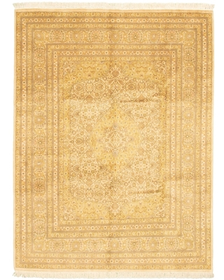 """Hand-knotted Pako Persian Ivory Wool Rug (Ivory - 8'0"""" x 10'6""""/8'0 x 10'6)"""