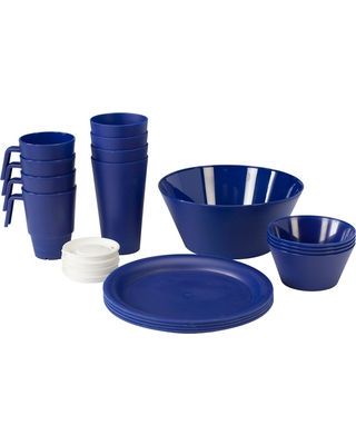 Summer Shopping Deals on CreativeWare Acrylic 21pc Dinnerware Set ...