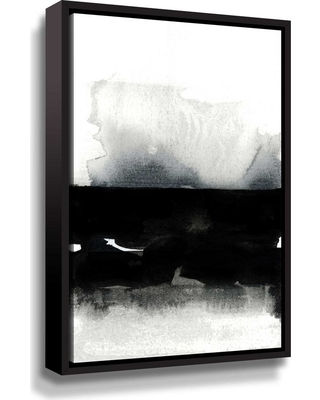 ArtWall 'BW 01' by Iris Lehnhardt Framed Canvas Wall Art, Black