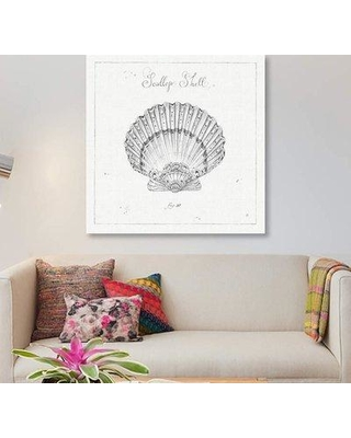 """East Urban Home 'Underwater Life VII' Graphic Art Print on Canvas ETRB3392 Size: 26"""" H x 26"""" W x 1.5"""" D"""