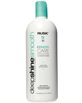 Rusk Deepshine Smooth Keratin Care Smoothing Conditioner, 33.8-oz, from Purebeauty Salon & Spa