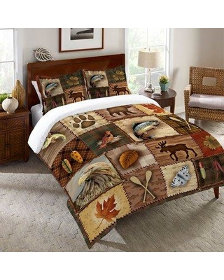 """Millwood Pines Stallworth Lodge Duvet Cover BF027099 Size: King: 104"""" x 88"""""""
