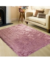 """AllStar Rugs Pink Area Rug 237000-pink- Rug Size: Rectangle 7'7"""" x 10'4"""""""