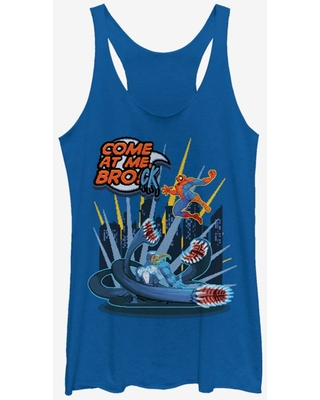 Marvel Spider-Man Come At Me Brock Womens Tank Top