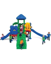 Ultra Play Discovery Center 5 Deck Play Structure with Roof DC-5XLG/02-08-0210