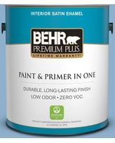 Deals On Behr Premium Plus 1 Gal M510 3 Sailors Knot Flat Low Odor Interior Paint And Primer In One