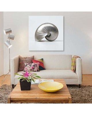 "East Urban Home 'Beachside Treasure I' Graphic Art Print on Canvas EBHT1106 Size: 18"" H x 18"" W x 0.75"" D"