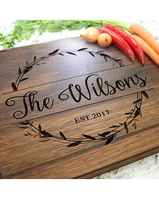 Personalized cutting board 104 Engraved cutting board Personalized wedding gift wedding gift for couples bridal shower gift engagement gift