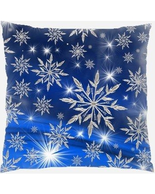 The Holiday Aisle Hallsville Christmas Indoor/Outdoor Canvas Throw Pillow W000296792