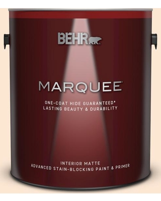 BEHR MARQUEE 1 gal. #P210-1 Sour Candy Matte Interior Paint & Primer