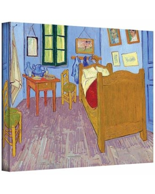 14'' x 18'' ''The Bedroom'' Canvas Wall Art by Vincent van Gogh, Small