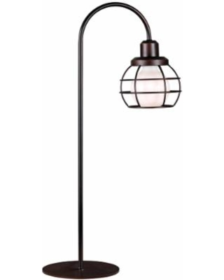 Kenroy Home Caged Oil-Rubbed Bronze Table Lamp
