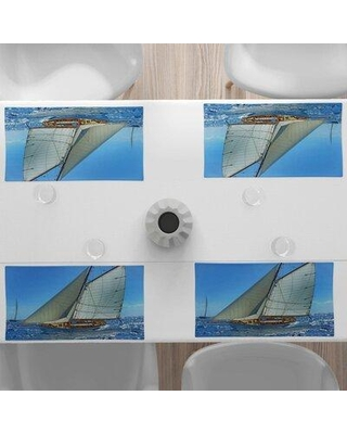 """East Urban Home 18.5"""" Placemat FCKP4956"""